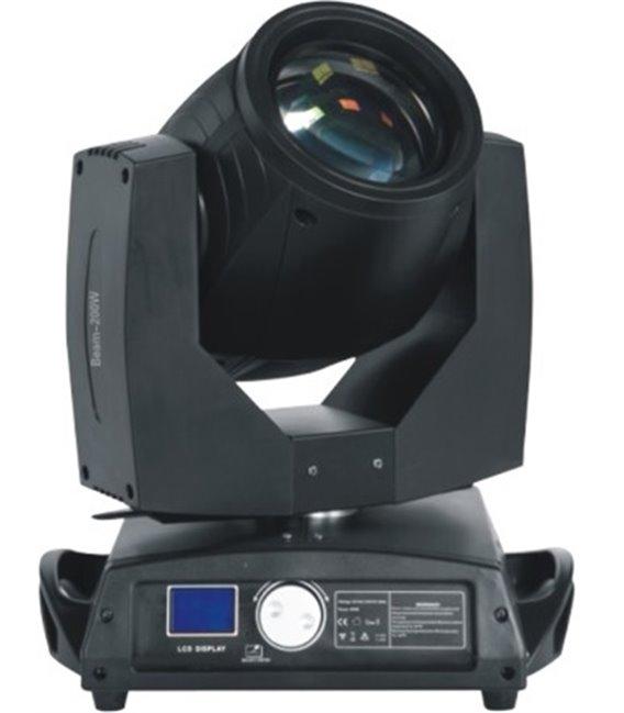Вращающаяся полноприводная тонколучевая голова PL-A043   200W   BEAM на лампе Phillips  5R